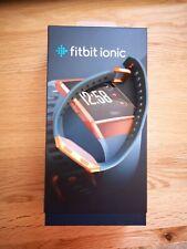 Fitbit Ionic Health & Fitness Smartwatch (GPS) Music, Blue & Burnt Orange