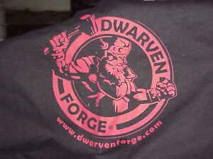 Dwarven Forge TOTE BAG Kickstarter Exclusive DUNGEON of DOOM in Red & Black