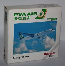 Herpa Wings-Boeing 767-300-EVA AIR-m/w Reg.-1:500-Sammlung-Rarität #502887