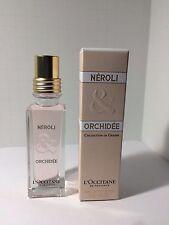 L'Occitane NEROLI & ORCHIDEE Eau de Toilette 1 oz/30 ml  Mini Perfume NIB
