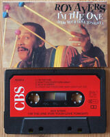 ROY AYERS - I'M THE ONE (CBS 4505974) 1987 EUROPE CASSETTE TAPE JAZZ FUNK EX CON