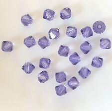 22! Tanzanite Swarovski Crystal Bicones 5mm - 5328/5301