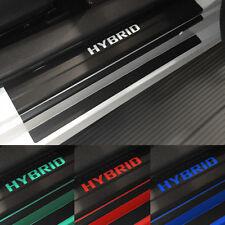 Toyota Prius V Door Sill Plate Protectors Black Matte Vinyl 2012-2017 Accessory