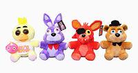 FNAF Five Nights at Freddy's Plush Doll Toy Chica Bonnie Foxy Xmas Gift Set of 4
