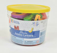 Learning Resources Jumbo Magnetic Uppercase Letters, ABC Magnets, 38-Piece