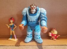 lot of 3 vtg Thunder cats figures snarf, Wiley -kit, other