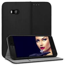 "FUNDA protectora bookstyle para HTC U11 (5.5"") - Negro- cuero artifal"