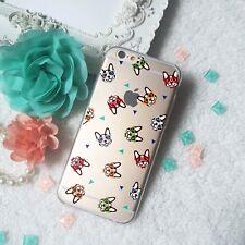 Boston Terrier TPU phone case i[hone 11 max pro 8 X 7 6 Galaxy S9 plus S8 Note10