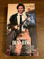 Dead-Bang VHS VCR Tape Movie Penelope Ann Miller DON Johnson Rated R Used