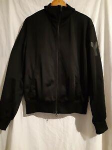 Y-3 Adidas black track jacket size medium