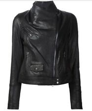 NWT | VINCE | Black Leather Moto Jacket | XS | $1,050