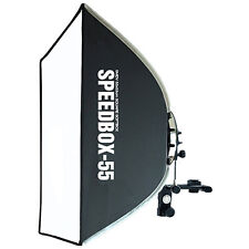 "SMDV Soft-box Square Diffuser 55 21"" for Speed-light Speed-lite Quantum Flash"
