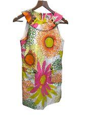 Milly of new York Floral Vestido de nosotros tamaño 2, Reino Unido Talla 6, nuevo