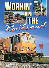 Working On The Railroad DVD Pentrex BNSF ballast concrete welded rail machines