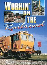 Working On The Railroad DVD Pentrex BNSF ballast concrete welded rail machines