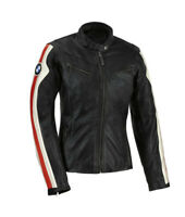 BMW Motorbike Jackets Leather Motorcycle Biker Racer Armour Sport Protective New