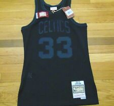 MITCHELL & NESS NBA HWC BOSTON CELTICS LARRY BIRD BLACK SWINGMAN JERSEY SIZE S