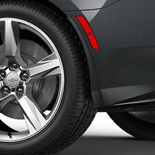 2016-2018 Camaro Genuine GM Rear Splash Guards Nightfall Gray Metallic 23436527