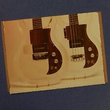 POP-CARD feat. DAN ARMSTRONG PLEXI GUITAR & BASS  , 11x15cm greeting card aax