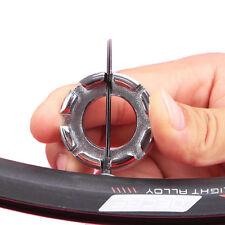 8 Way Spoke Nipple Repair Tool Wheel Spanner Spoke Wrench Steel Bicycle Adjuster