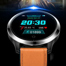 Smart Watch Body Temperature Blood Oxygen Pressure Heart Rate Monitor Wristband
