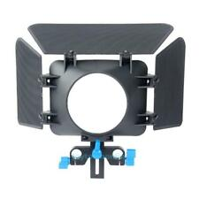 M1 Matte Box Camera Shade for 15mm Rail Rod Follow Focus Rig Cage Camera