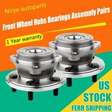 2 PCS Front Wheel Hub Bearing Accessory For 90-99 Jeep Wrangler Cherokee 513084