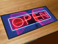 Neon open sign bar runner Coffee Shop Pubs Clubs & Cocktails Bars Home Bars