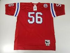 NWT Men's MITCHELL AND NESS 1984 Jersey SZ 54 Red #56 Tippett VTG