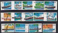 ST KITTS :1990 Ships definitives  SG312-25 never-hinged mint