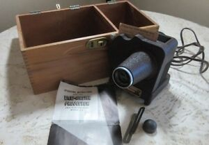 Sawyer's View-Master Projector S-1, Case, instructions