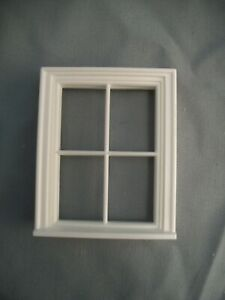 Half Scale 1:24 - Victorian 4 Pane  Window - Jackson's Miniatures Dollhouse #L9