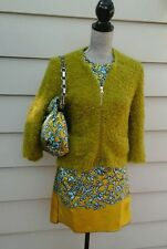 LAST CHANCE MAKE OFFER NEW MARC JACOBS 3 PIECES  DRESS JACKET BAG SILK SIZE XS