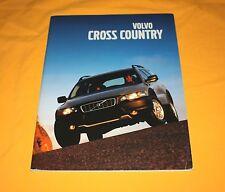 Volvo Cross Country 2001 Prospekt Brochure Depliant Catalog Prospetto V70