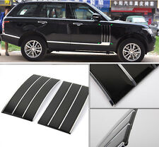 Car Side Fender Vents Air Intake Grille fit for Range Rover Full Size 13-16 Blac