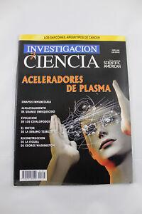 Magazine Research And Science Aceleradores Of Plasma - April 2006
