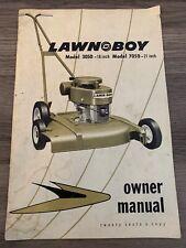 Vintage Lawnboy Mower Owners Manual Model 3050