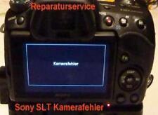 "Sony SLT A 33/35/55 Reparaturservice ""Kamerafehler"", defekter Verschlußmotor"