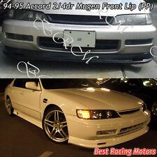 Mu-gen Style Front Bumper Lip (PP) Fits 94-95 Honda Accord