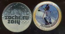 RUSSIE   medaille ski sotchi 2014