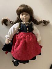 Glorex fabric natural fiber soft girl doll