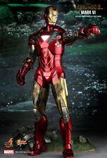 Hot Toys Iron Man 2 Mark VI 6 MMS 132 FactSeald frm Sideshow 1/6 Figure Statue