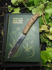 Upcycled Athame with Dorset Yew Handle - Pagan, Wiccan, Ritual, Witchcraft