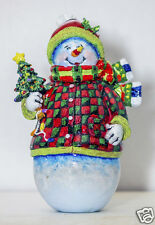 "Snowman with Tree Fridge Magnet 3.25""x2.25"" Collectibles (PMD11021)"