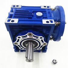 063 Worm Gear Box 60:1 Speed Reducer Reduction 90B14 24mm Input  Stepper Motor