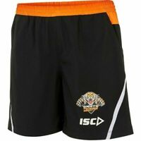 Wests Tigers NRL 2018 Players ISC Training Shorts Sizes S-5XL! T8
