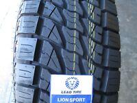 4 New LT 285/55R20 Lion Sport Tires 55 20 R20 2855520 E 10 Ply AT All Terrain