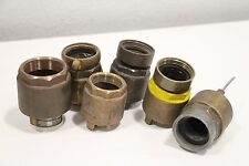 Lot of (6) Fss Forest Fire Fighter Check Valve Brass Fittings 9Nh Vico 1.5 Nh