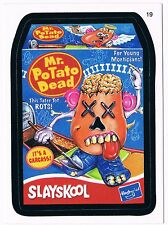 2006 Topps Wacky Packages Series 4 Mr. Potato Dead Trading Card 19 ANS4