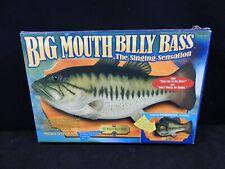 Billy Bass Singing Fish Musical Animated Talking Wall Hanging New Original Box
